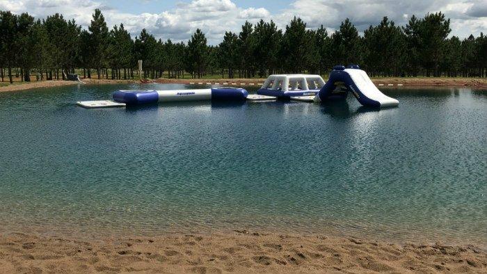 Inflatable Tube Slide
