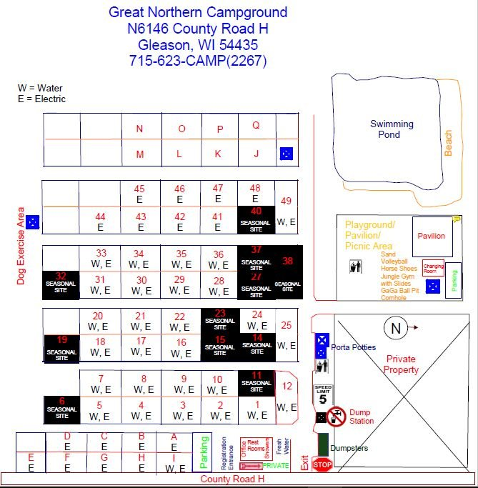 Camp Map 2021